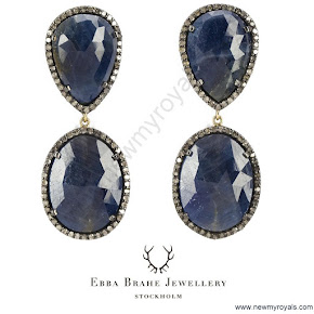 Crown Princess Victoria style jewelery EBBA BRAHE Earrings