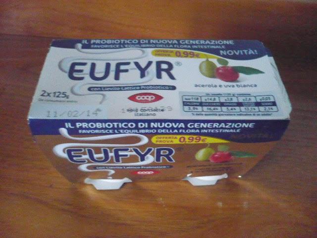 Eufyr Coop un probiotico al gusto acerola e uva bianca