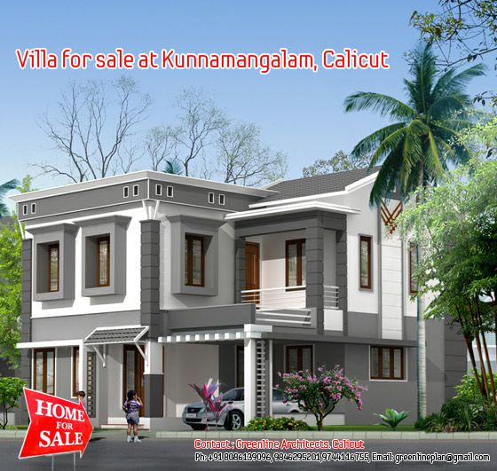 4 bhk villa for sale at Kerala
