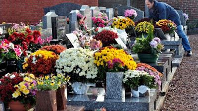Significado llevar flores difuntos