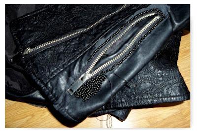 Jak naprawić/zamaskować zniszczoną kurtkę skórzaną. Mój sposób DIY // How to repair damaged leather jacket DIY