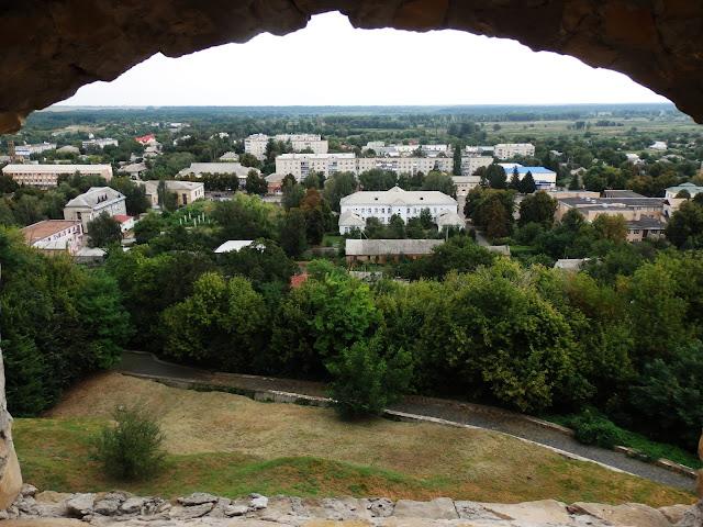 Panorama Czehrynia z Góry Zamkowej