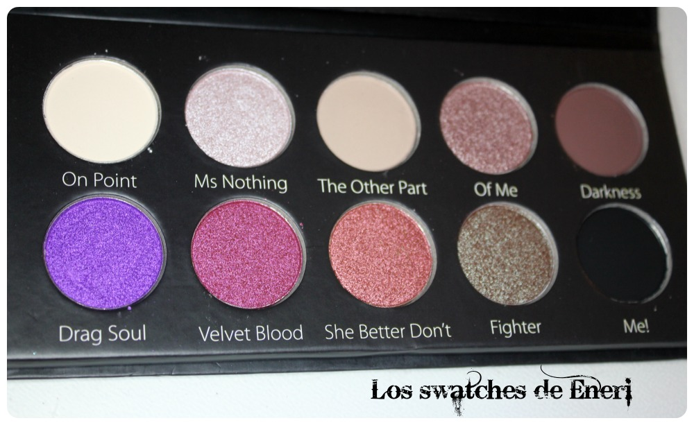 Los swatches de eneri swatches y look con la goty make for Como ahumar los ojos