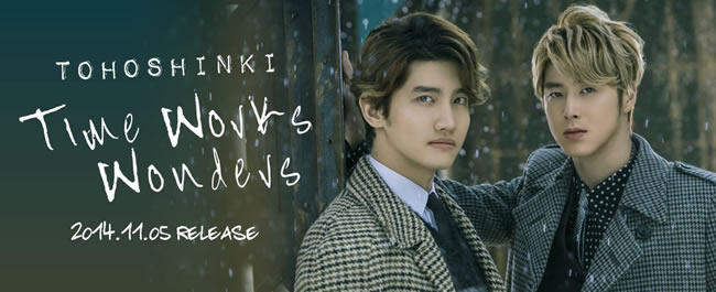 TVXQ presenta Time Works Wonders un nuevo single para Japón #JPOP