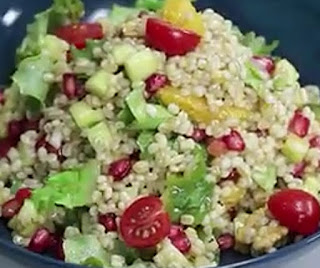 Homemade barley salad recipe