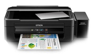 H5N1 multifunction printer that provides convenience too remain of printing is the ultimate ch EPSON L380 Printer Driver Download