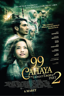 Download Film 99 Cahaya di Langit Eropa part 2 (2014)