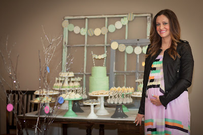 The Bachelor's Molly Mesnick chats about her baby shower and maternity clothes