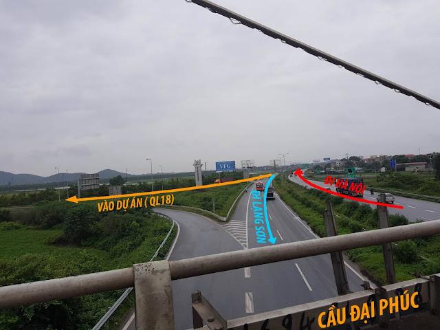 Tuyến đường đi Him Lam Bắc Ninh
