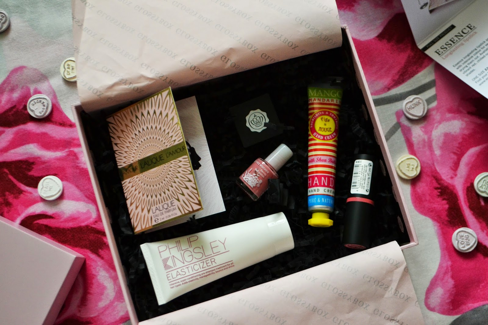INSIDE THE AUGUST GLOSSYBOX