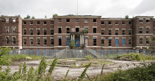 Abandoned Staffordshire Hospital