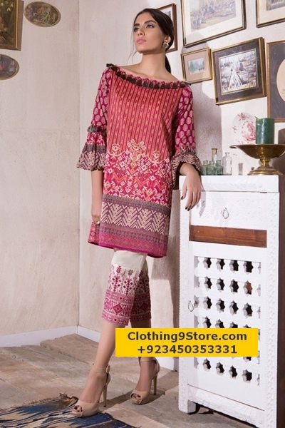 Khaadi Mid-Summer 2-Piece Collection 2017/2018