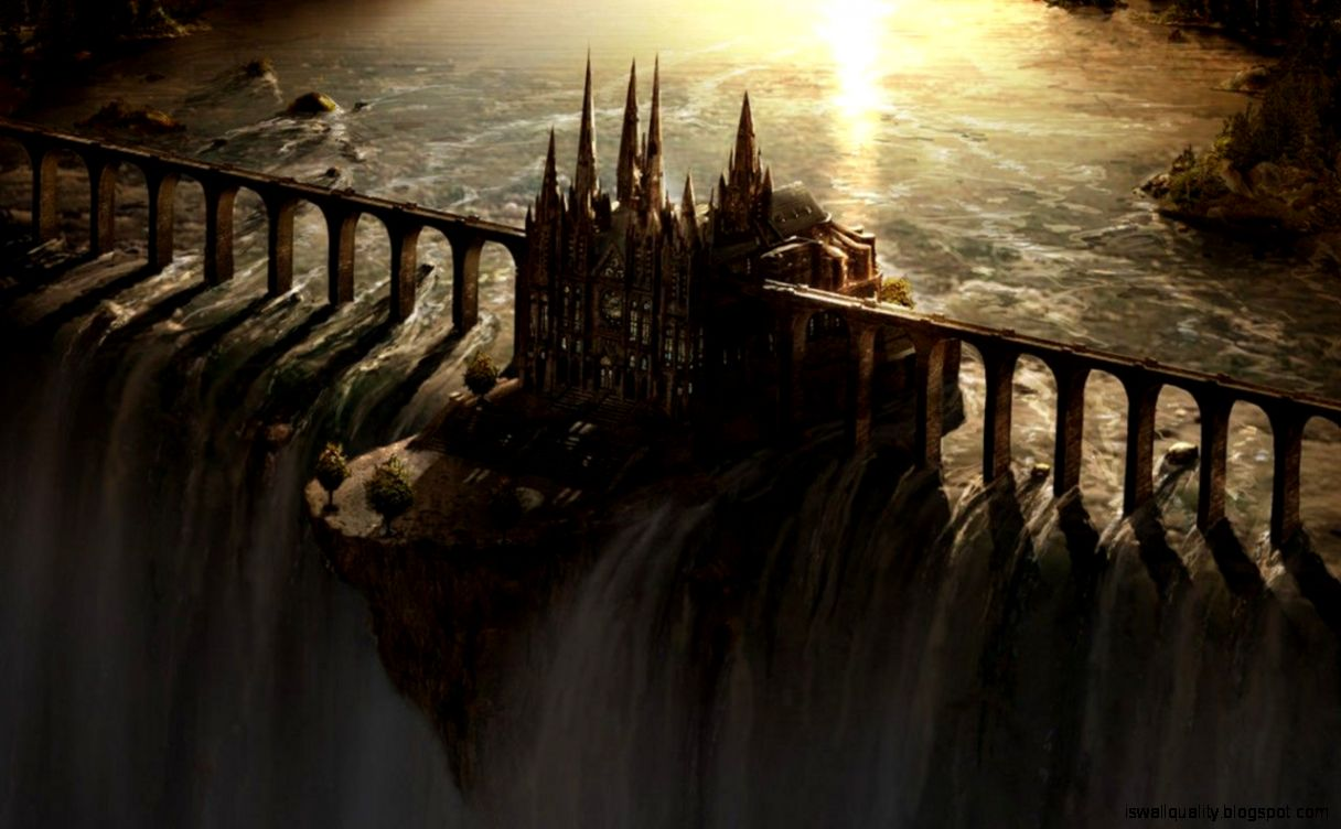Fantasy Castle Wallpaper Hd Wallpapers Quality