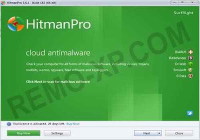 HitmanPro 3.6.1
