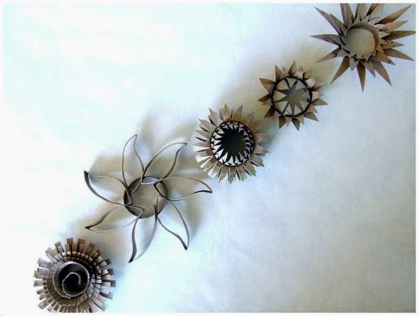 Ideas Decora tus paredes con rollos de papel higinico