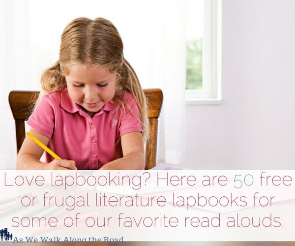 Free and frugal literature lapbooks for great read alouds