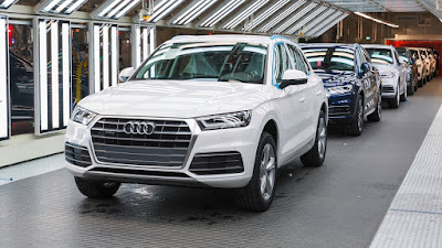 New Audi Q5 Production pics