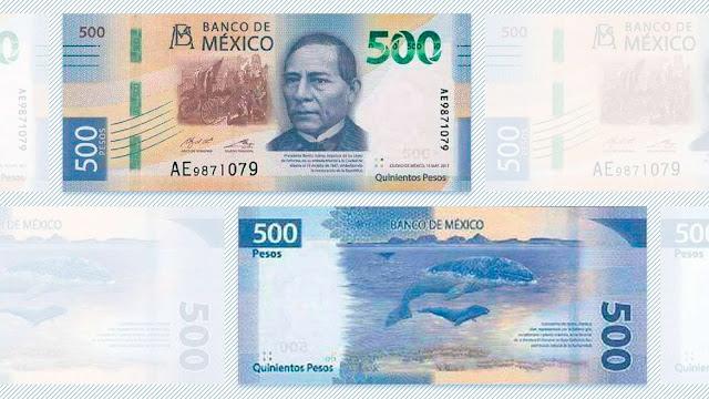 Así se identifican los billetes falsos de 500