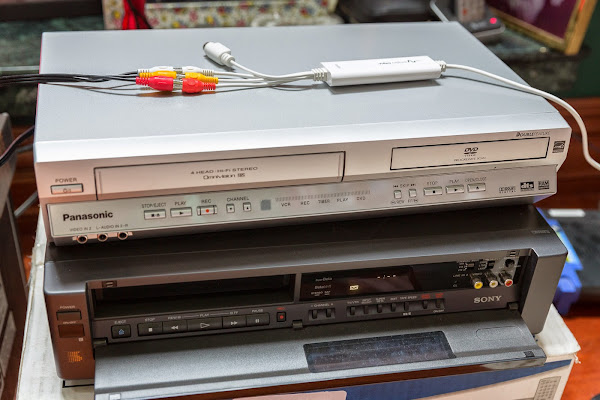 Converting Your VHS and Betamax Tapes to Digital · sunpech blog