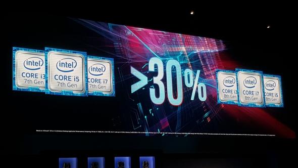 Intel Coffee Lake, Processor Intel Generasi Kedelapan