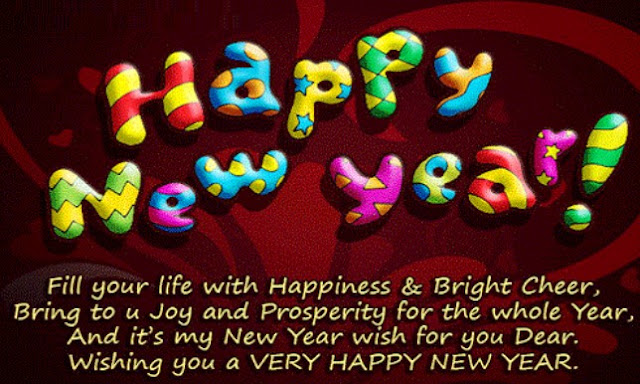 Hpaay new year messages