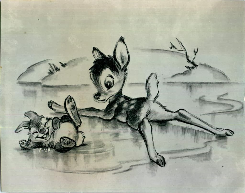 Deja view the genius of frank thomas - Bambi on ice images ...