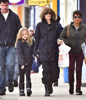 Angelina Jolie Celebrates The New Year With Her 6 Kids In Colorado