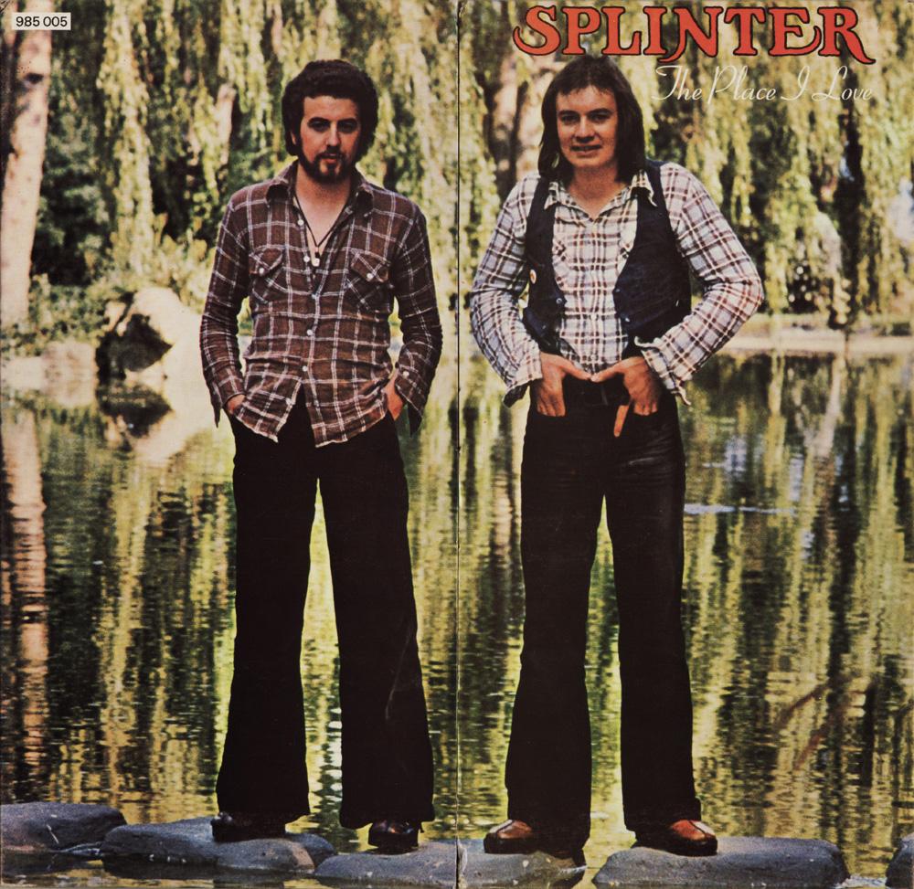 Plain and Fancy: Splinter - The Place I love (1974 uk, fabulous soft melodic rock, france Vinyl edition and 2008 bonus tracks remaster)