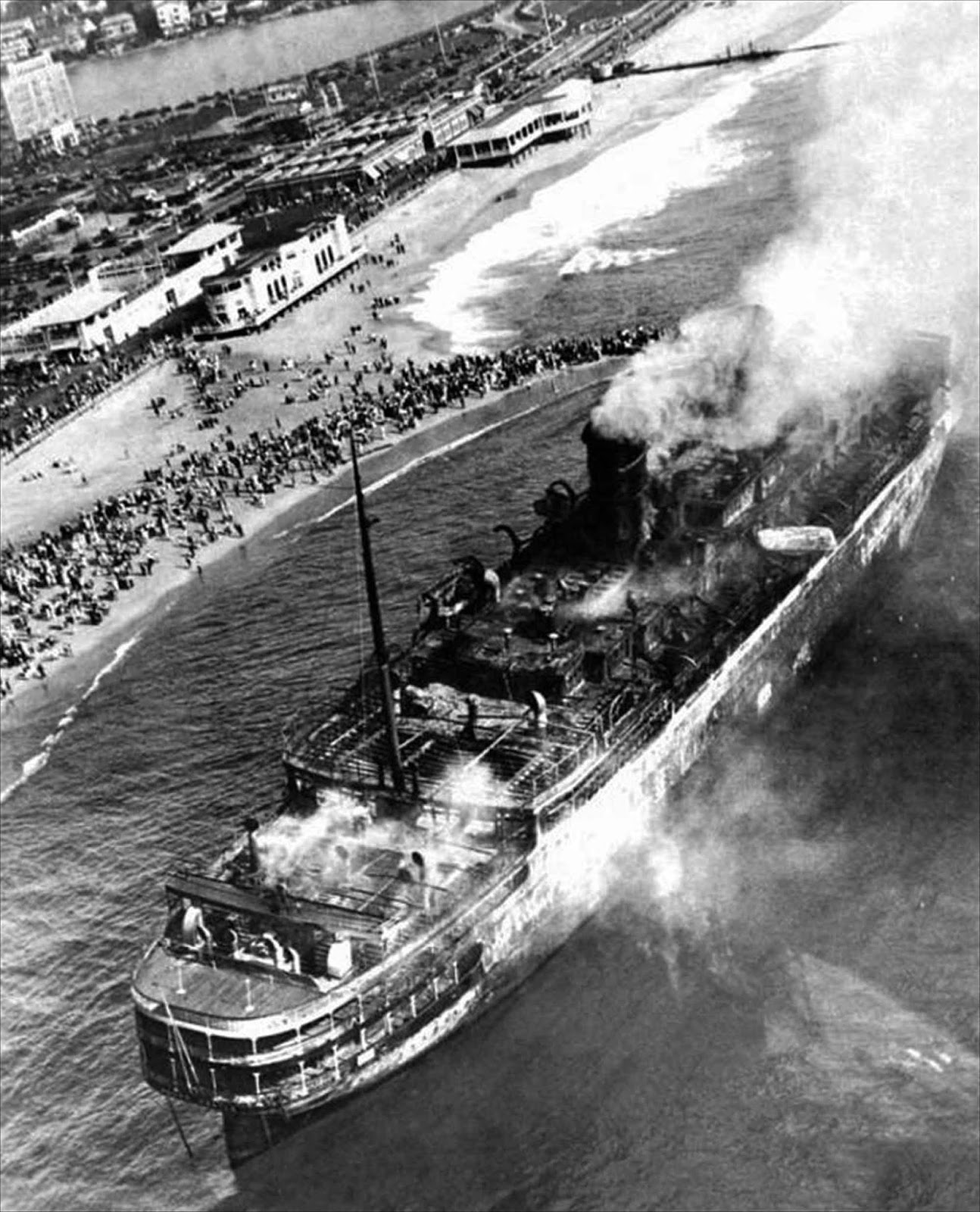 Although there were 42 water hydrants on board, the system was designed with the assumption that no more than six would ever have to be used at any one time. When the emergency aboard the Morro Castle occurred, the crew opened virtually all working hydrants, dropping the water pressure to unusable levels everywhere.