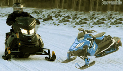 Snowmobile, skimobile, স্নোমোবীল