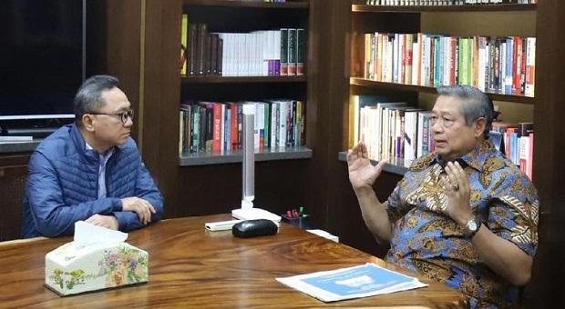 Ini Isi Pertemuan Zulkifli Hasan dan SBY