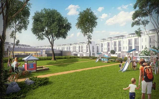 Không gian sống xanh tại FLC Premier Park