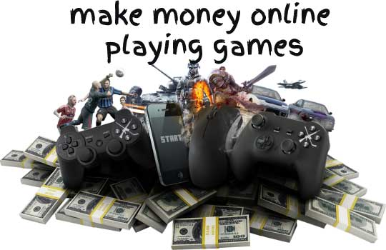 play games for money online