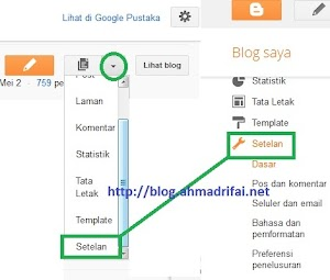 Cara Pasang SEO Meta Tag Description Di Blogspot
