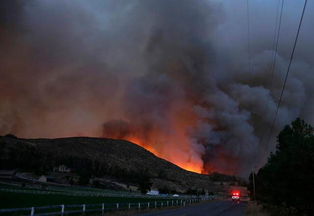 Wildfires across several states in central U.S. AP_635612843539