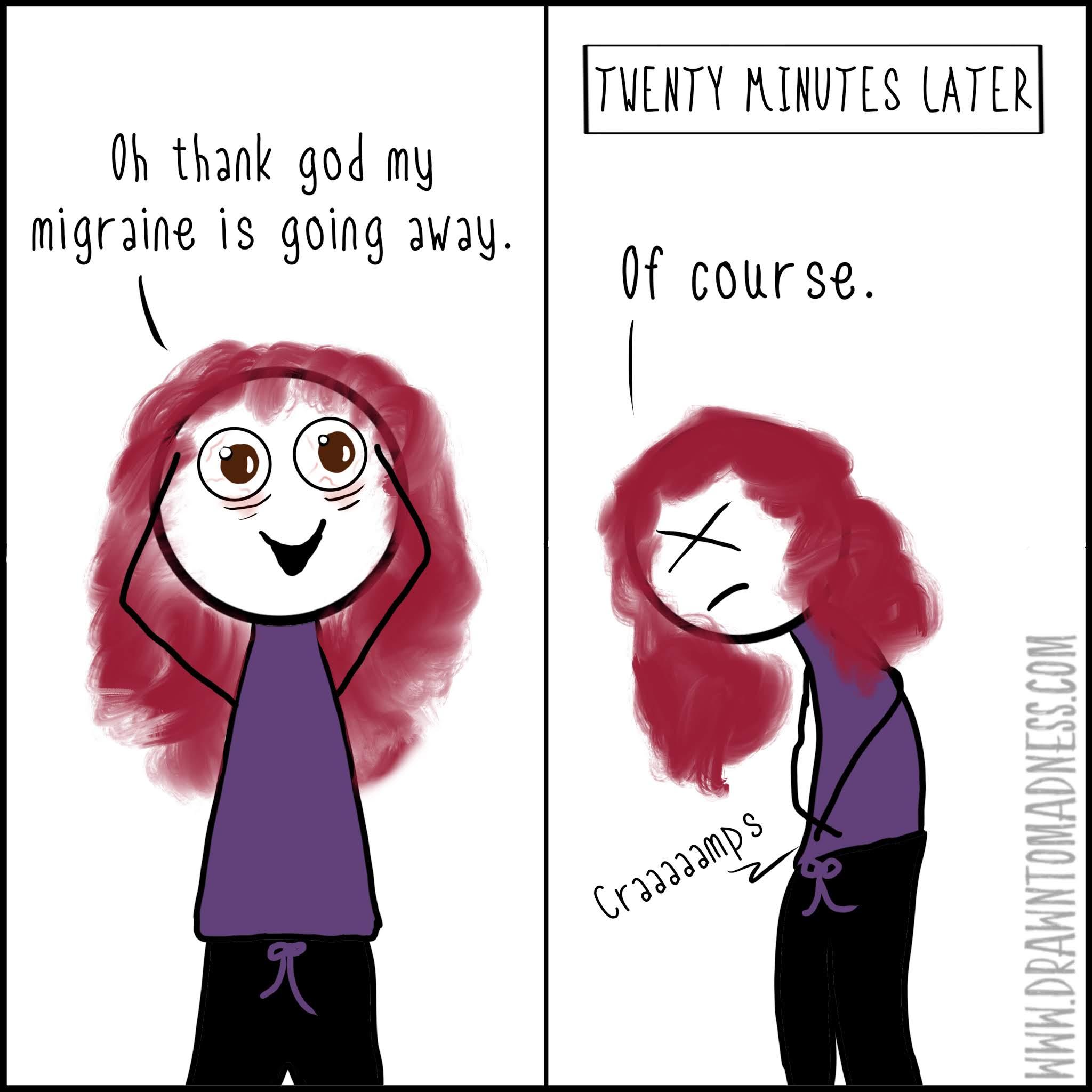 webcomic comics funny cartoon migraines headaches