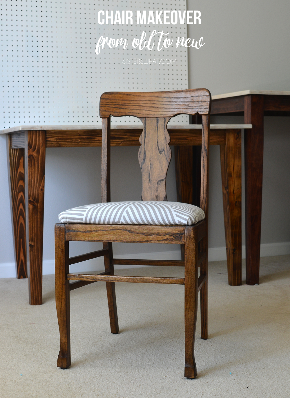 Diy Chair Makeover From Old To New