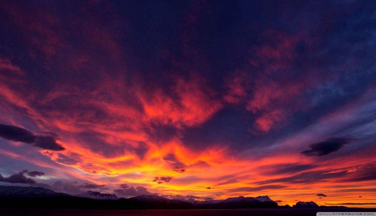 Sunset Sky Wallpaper Wallpapers Screen
