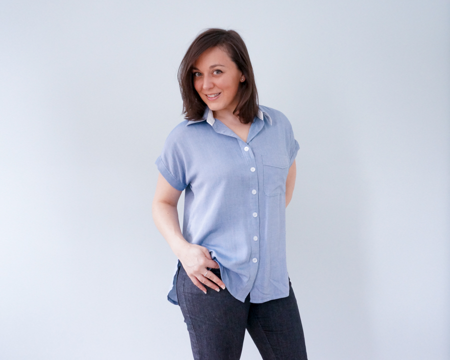 Closet Case Patterns Kalle Shirt pattern review for #sewmystyle2018