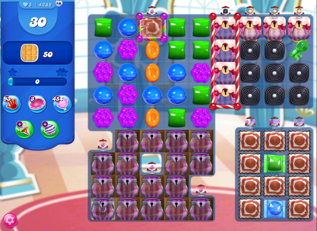 Candy Crush Saga level 4285
