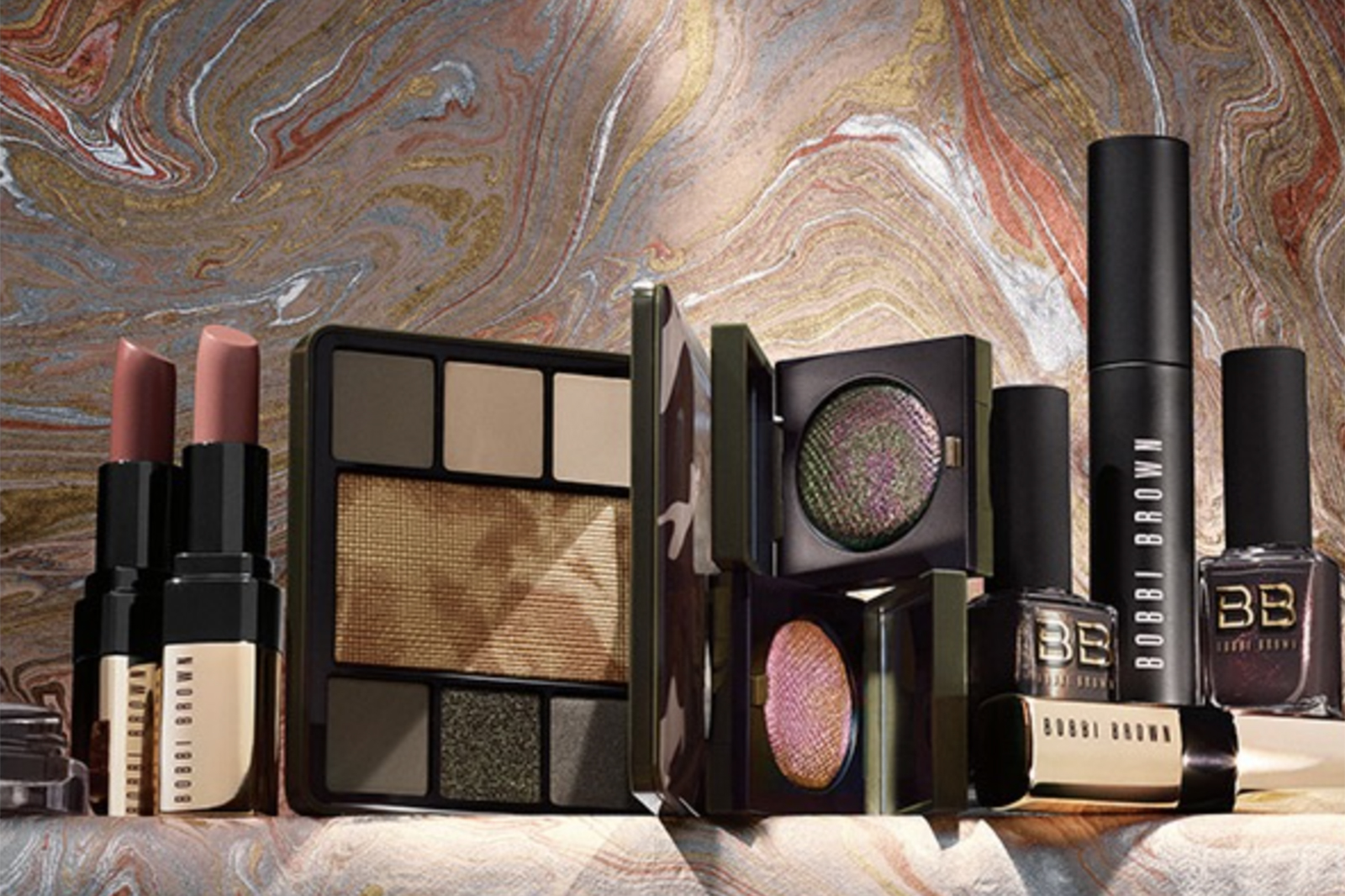 bobbi brown collection fall automne 2018 camo luxe avis test