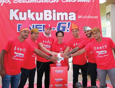 KukuBima Ener-G! Dukung Dunia Sepak Bola Indonesia dan Penyelamatan Sungai Citarum