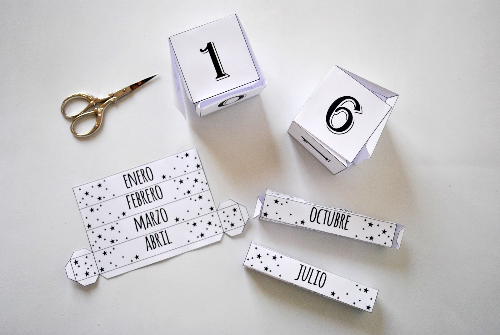 DIY Tutorial Calendario Perpetuo (con descargable)
