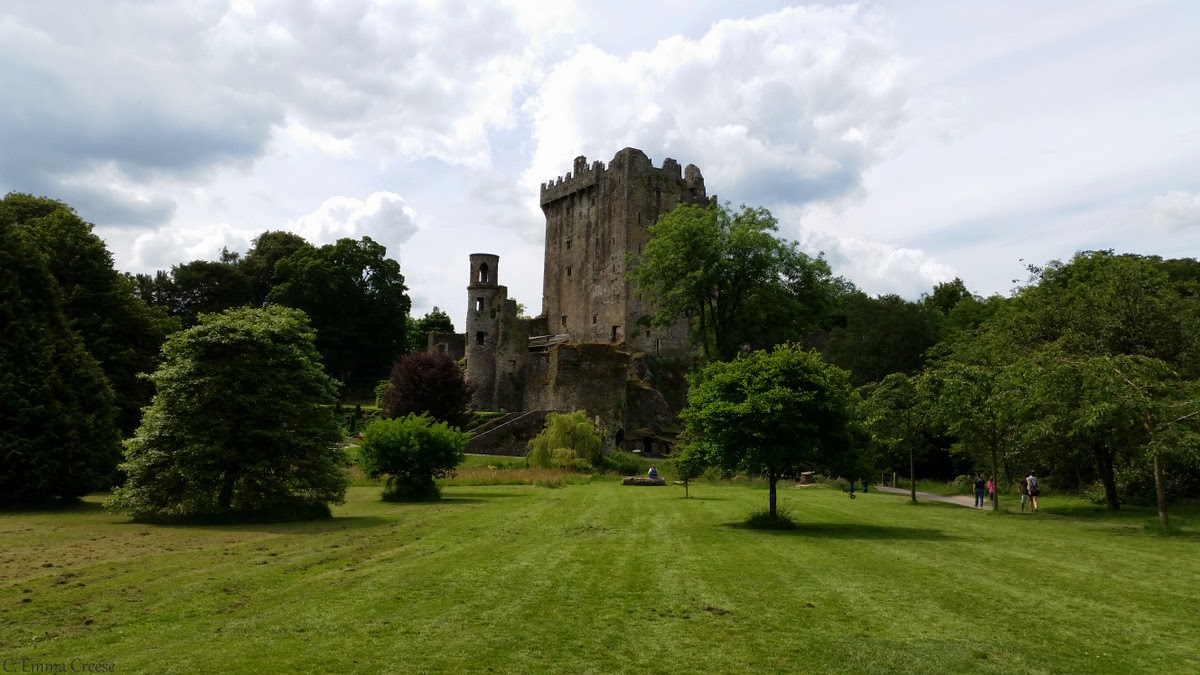 A kiwi and the infamous Blarney Stone