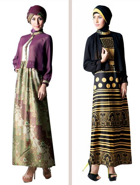 Gambar Baju Muslim Brokat