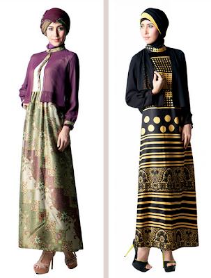 Model Baju Muslim Gamis Brokat Untuk Pesta Elegan