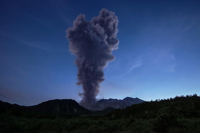 Sakurajima Volcano Eruption
