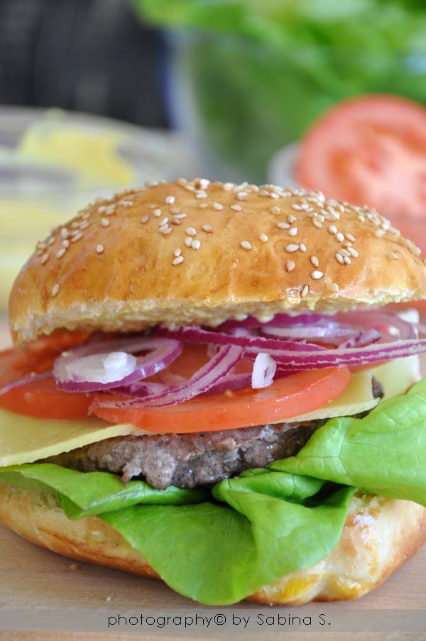 """Super Due bionde in cucina: """"Burger Buns"""" panini per hamburger fatti in casa PN56"""