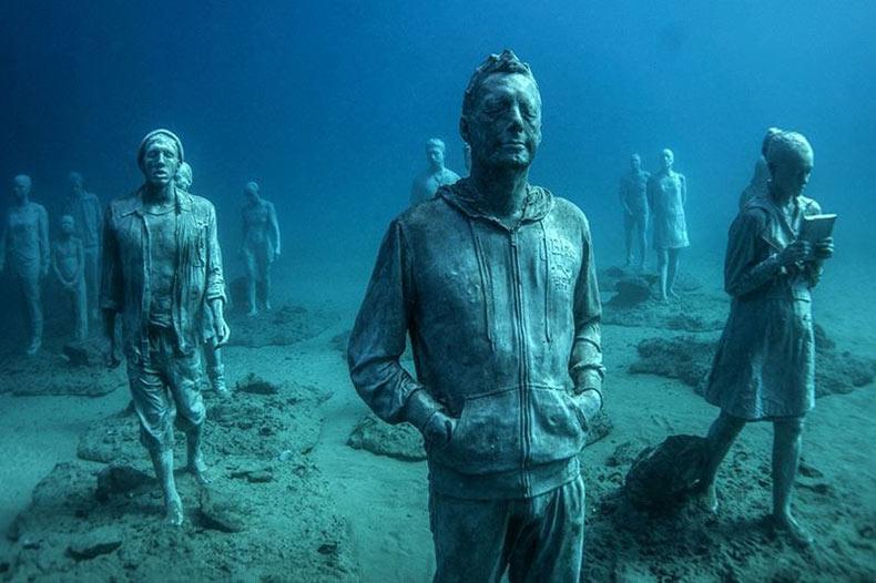El museo submarino de Lanzarote   España