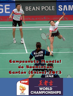 BÁDMINTON-Mundial 2013 (Cantón, China)